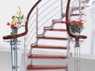 mẫu cầu thang inox mới nhất