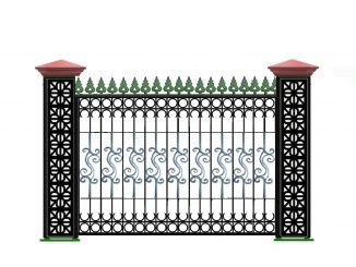 Báo giá hàng rào sắt mới nhất